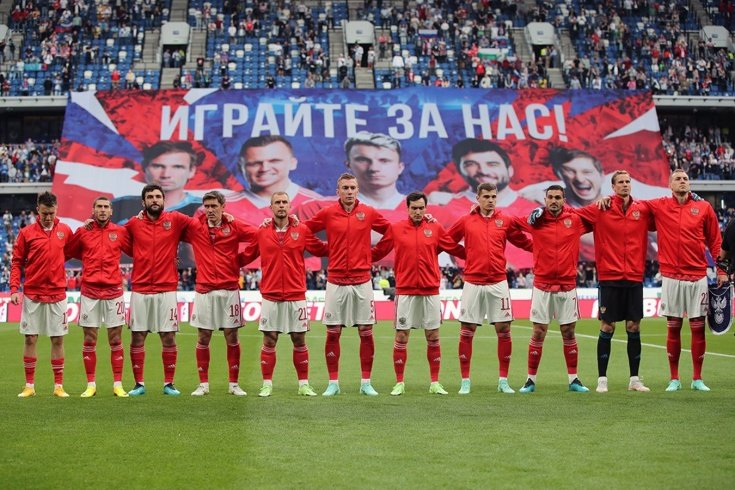 Все футболисты сборной России сдали отрицательные тесты перед матчем с Финляндией