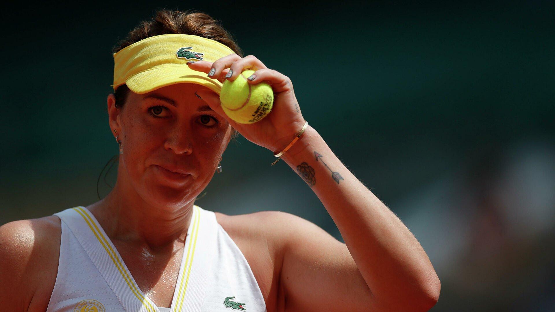 Российская теннисистка Павлюченкова проиграла чешке Крейчиковой в финале «Ролан Гаррос»