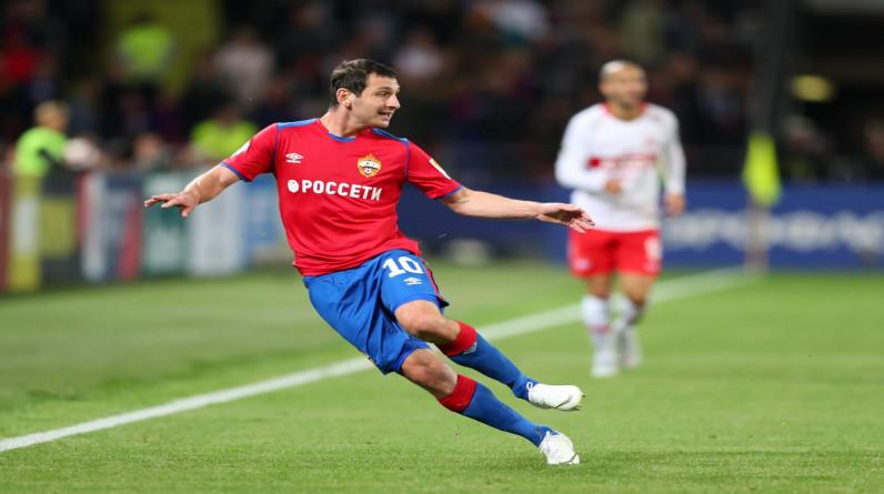 Дзагоев продлил контракт с ЦСКА на два года
