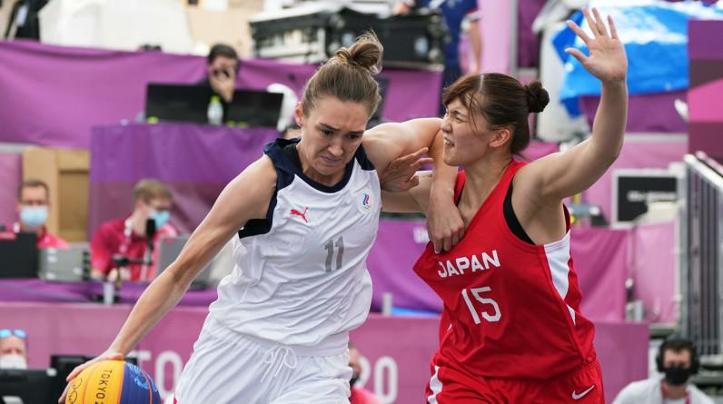 Россиянки обыграли Японию и Китай на старте олимпийского турнира по баскетболу 3х3