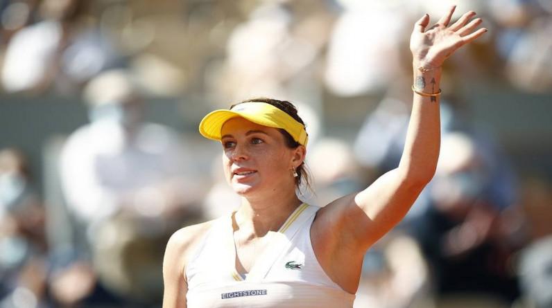 Павлюченкова осталась первой ракеткой России в обновленном рейтинге WTA