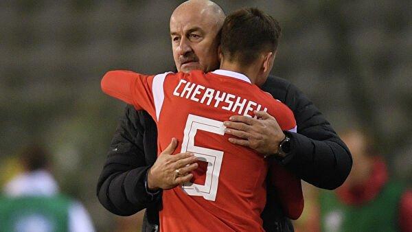 Черышев первым из футболистов поблагодарил Черчесова после его ухода из сборной России