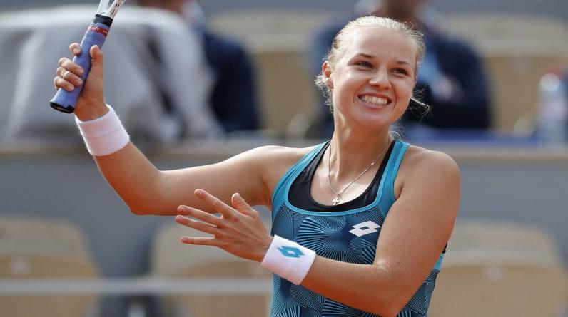 Блинкова не пробилась в 1/8 финала турнира WTA в Гдыне