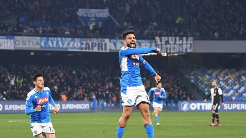 Клиент «Фонбет» поставил 100 тысяч на победу «Наполи» в матче Серии А с «Ювентусом»