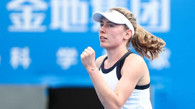 Александрова с победы стартовала на турнире WTA в Люксембурге