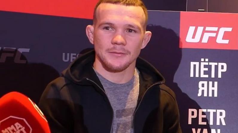 Стерлинг снялся с реванша против Петра Яна в UFC