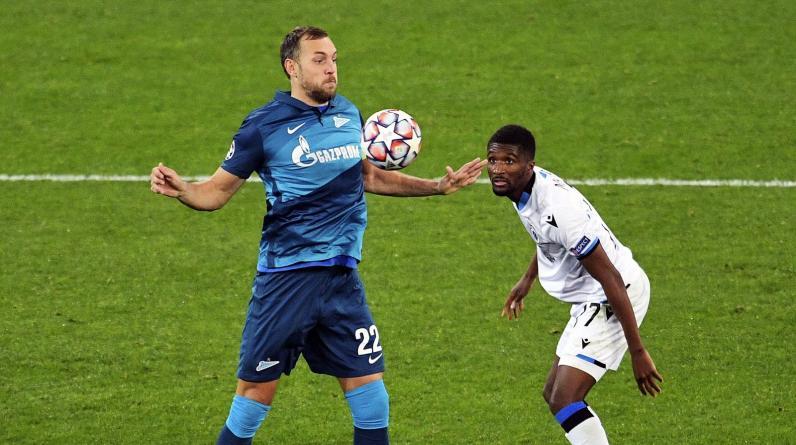 «Зенит» является главным аутсайдером игрового дня в Лиге чемпионов
