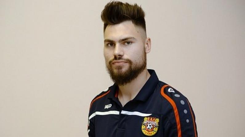 Защитник Беляев подписал новый контракт с тульским «Арсеналом»