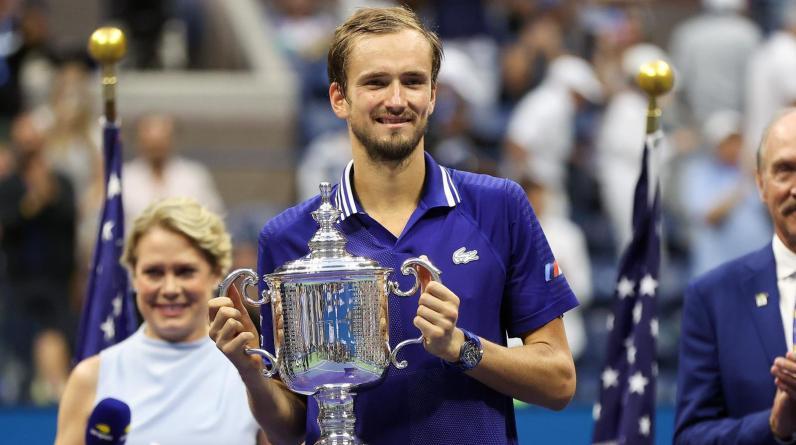 Клиент BetBoom выиграл 2,6 млн рублей после победы Медведева в финале US Open