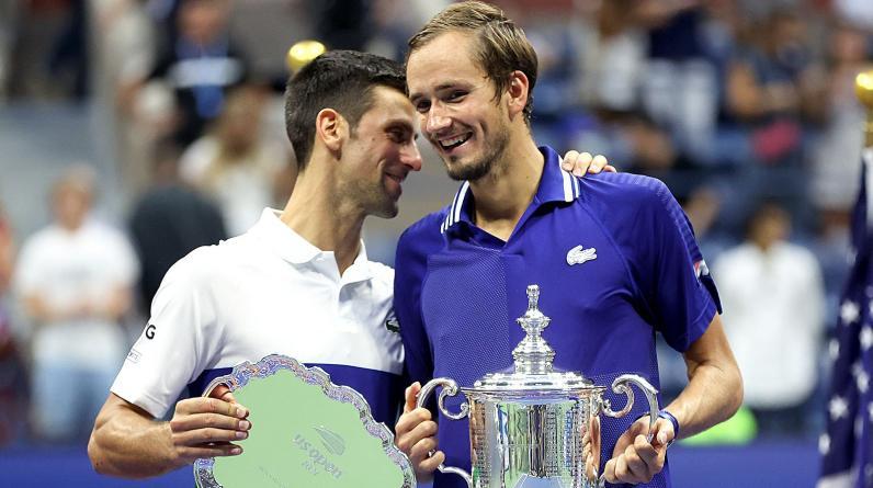 Медведев назвал Джоковича величайшим теннисистом в истории после победы в финале US Open