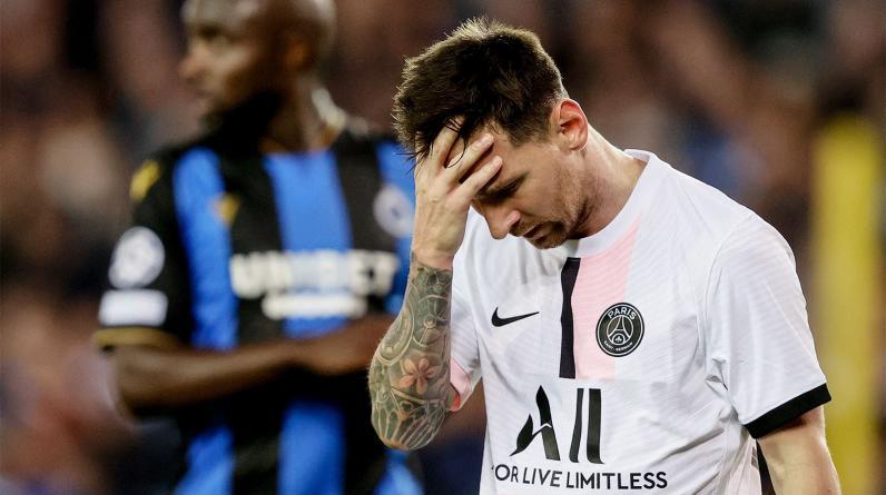 Le Parisen: Месси опускает голову все ниже, ходит по полю и больше не влияет на игру