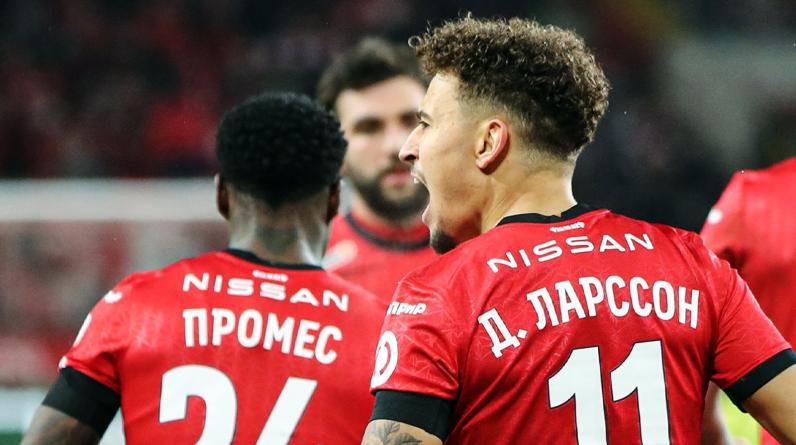 Промес и Ларссон — в стартовом составе «Спартака» на матч с «Легией»